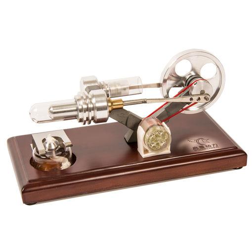 Bild på Stirlingmotor på platta
