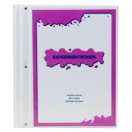 Bild på Experimentboken, pärm