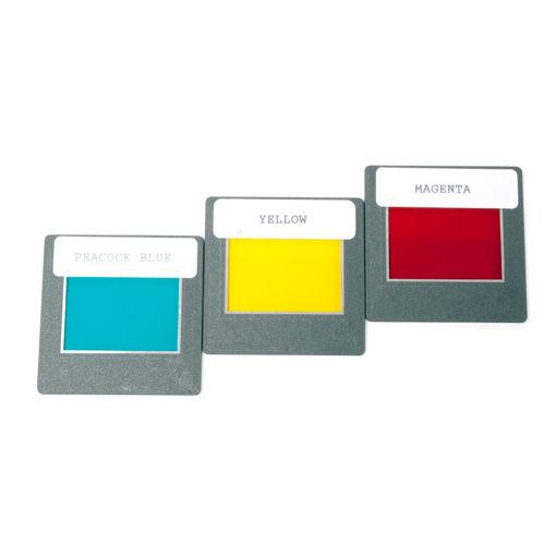 Bild på Färgfilter sekundärfärgerna /3 st