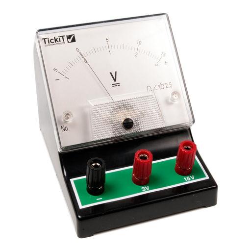 Bild på Voltmeter -1 - 0 - 3V, -5 - 0 - 15V