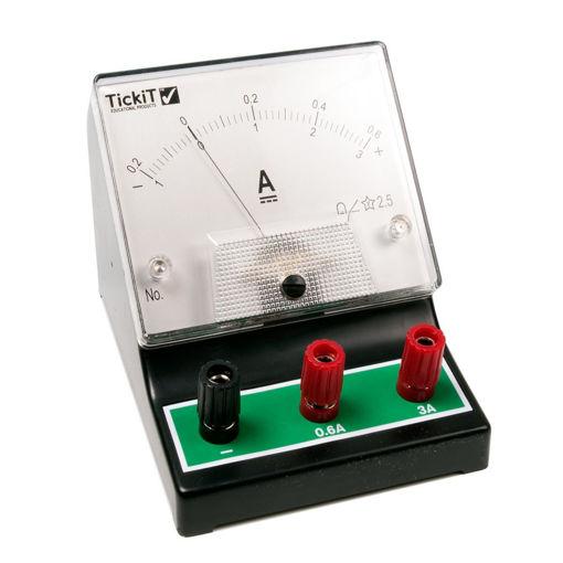 Bild på Amperemeter -200 - 0 - 600 mA, -1 - 0 - 3A