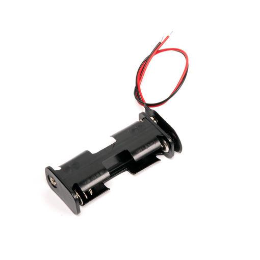 Bild på Batterihållare 2xR6 /5st