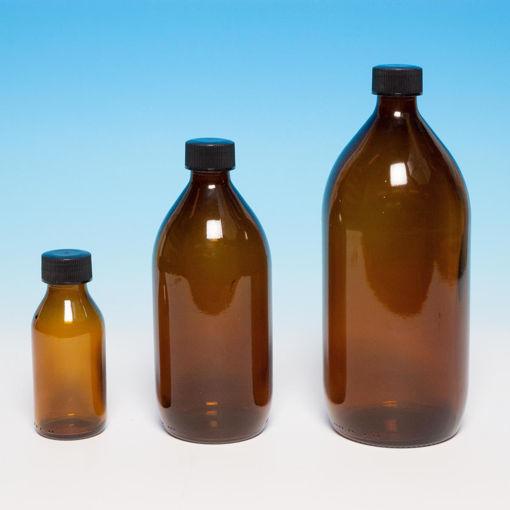 Bild på Flaska - brunt glas