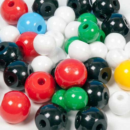 Bild på Molekylkulor