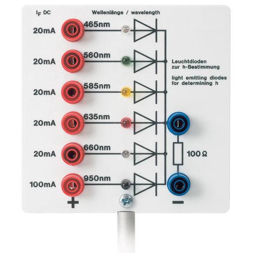 Bild på Plancks konstant lysdioder