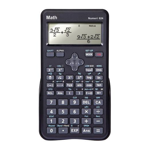 Bild på Miniräknare Math Numeri 624