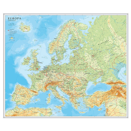 Bild på Europakarta