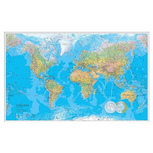 Bild på Världskarta