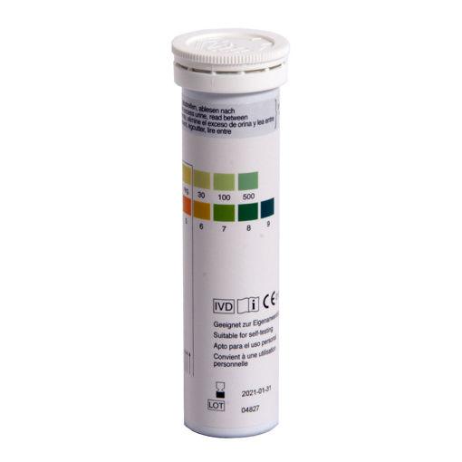 Bild på Teststicka - protein /50 st, 93004