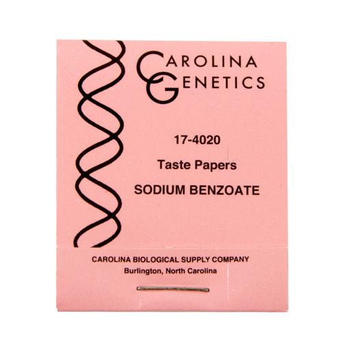 Bild på Smakpapper Natrium Benzoate /100st