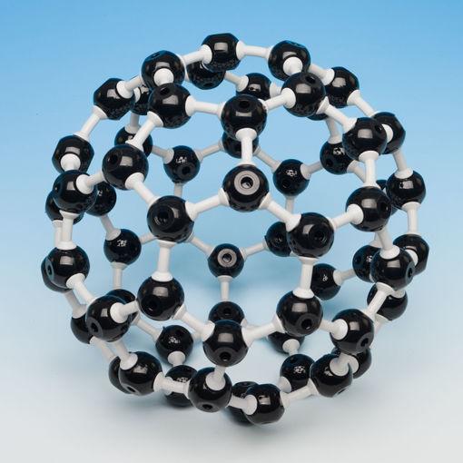 Bild på Molekylm. buckminsterfullerene