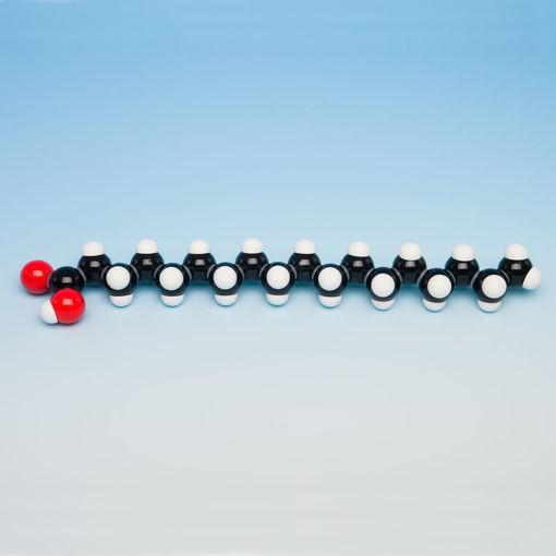 Bild på Molekylm. fett mättat, 1 molekyl