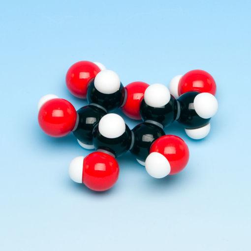 Bild på Molekylm. glukos, 2 molekyler