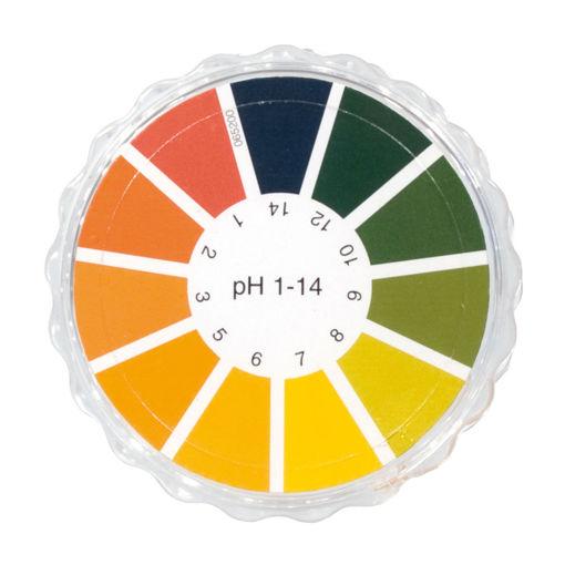 Bild på pH-papper rulle pH 1-14