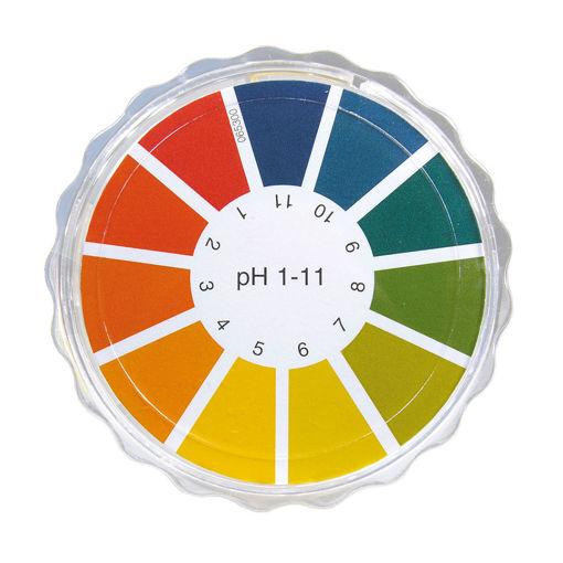 Bild på pH-papper rulle pH 1-11