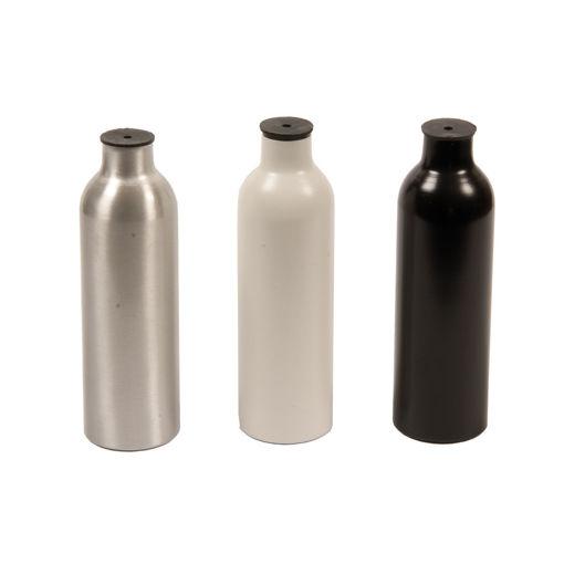Bild på Värmestrålcylindrar, vit, svart, blank
