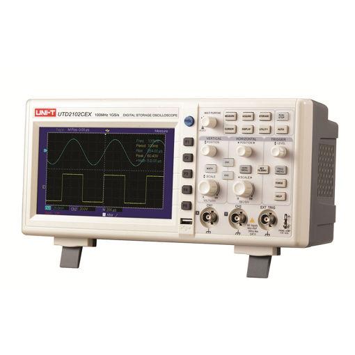 Bild på Oscilloskop 100 MHz digitalt