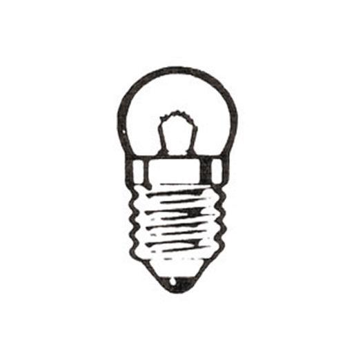 Bild på Lampa 6V 0,05A E10 /10st